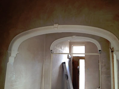 Keystones, Corbels & Arches installed in Bristol