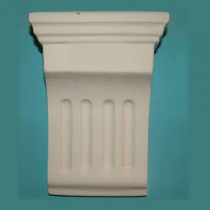 SMALL FLUTED CORBEL 1