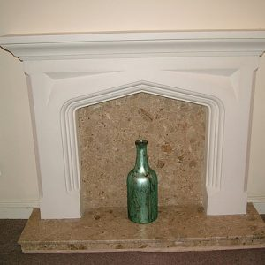 REAL STONE EFFECT FIREPLACE