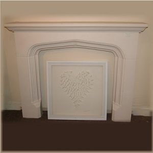 MINSTER STONE FIREPLACE - LARGE