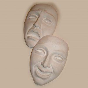 Happy & sad masks