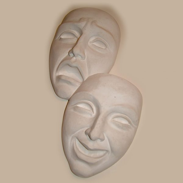 Happy & sad masks