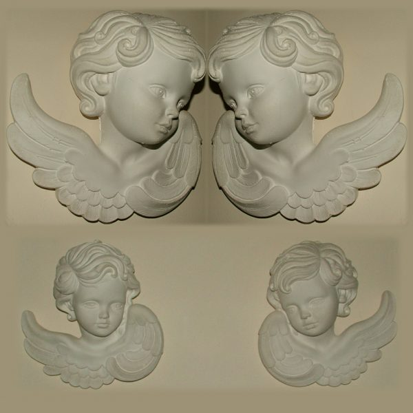 Cherubs Left & Right Pair