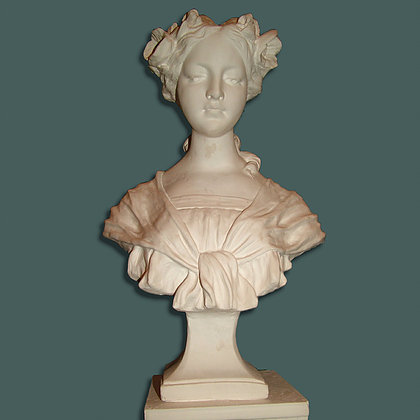 Large classic lady bust 47cm