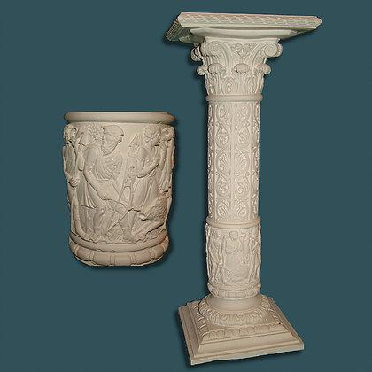 Decorative Pedestal 06