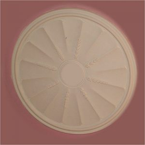 FLUTED ADAM CEILING CENTRE CC8 510mm