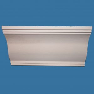AB10 Medium Ogee cornice / coving with small stepped detail