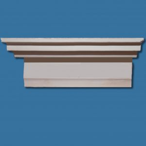 AB39 X large Art Deco stepped detail cornice