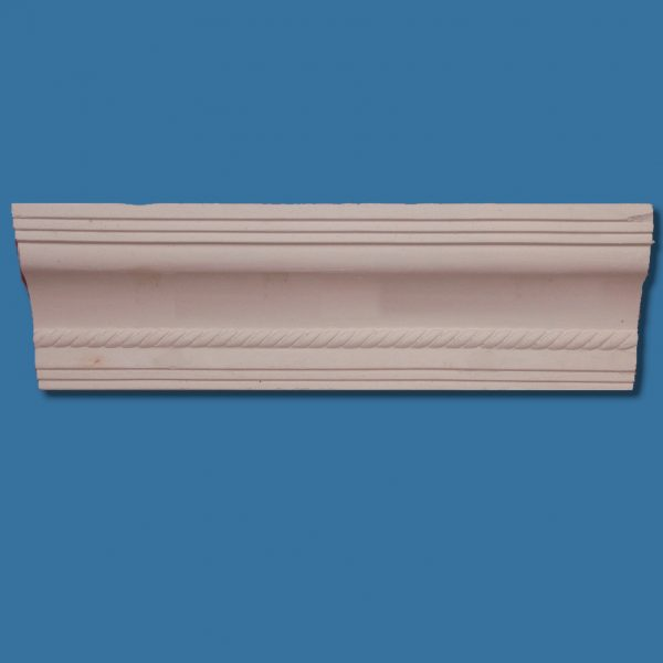 AB44 Georgian rope and step detail cornice / coving