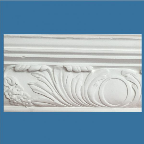 AB50 Large Floral with Acanthus cornice / coving