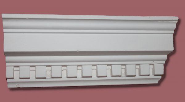 AB54 Small Dentil coving / cornice