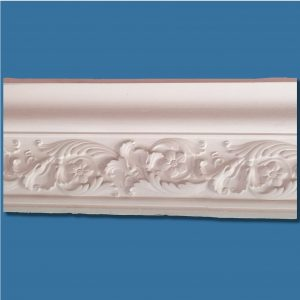AB56 Large Tudor Rose cornice / coving