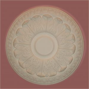 EGG n DART ACANTHUS CEILING CENTRE CC18 470mm