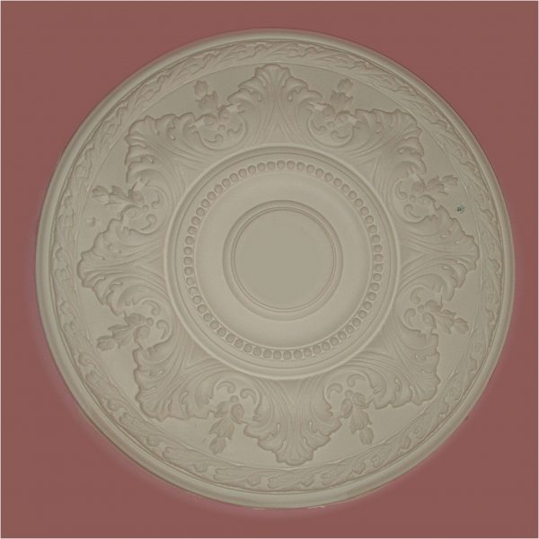 ACANTHUS, BEAD WITH LEAF EDGING CEILING CENTRE CC34 450mm