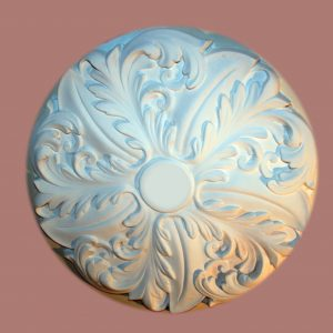 MEDIUM FLAT ACANTHUS CEILING CENTRE CC35 500mm