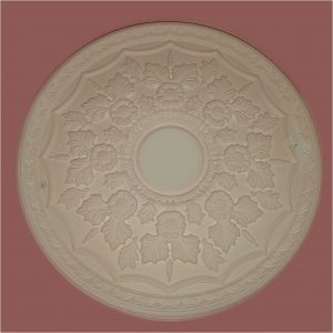 SMALL FLORAL CEILING CENTRE CC40 465mm