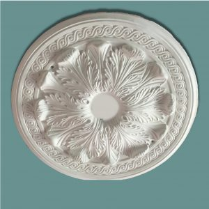 RAISED ACANTHUS WITH SMALL SCROLL CEILING CENTRE CC62 530mm
