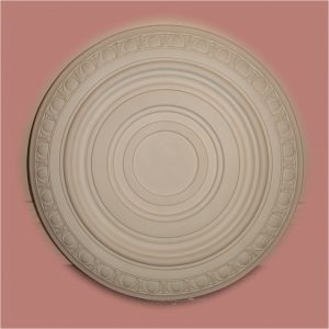 SMALL CIRCLE EGG n DART RONDELLE CEILING CENTRE CC64 490mm