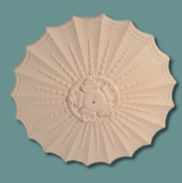 SCALLOPED ADAM CEILING CENTRE CC81 490mm