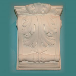 LARGE ACANTHUS WITH SMALL SCROLL CORBEL 10