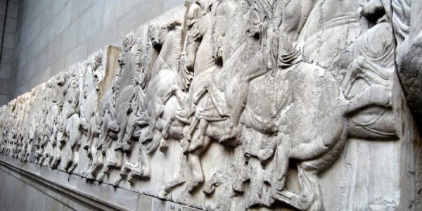 PARTHENON MARBLES   REPLICA PLASTER PLAQUE - Made to order item