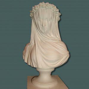 Veil lady bust 36cm