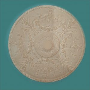 DECORATIVE FLORAL WITH BEADED EDGE CC67 850mm