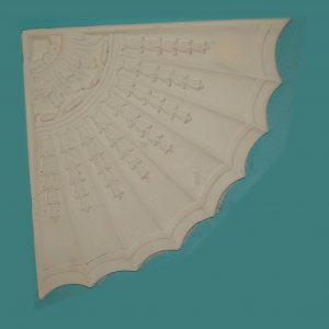 QUARTER SECTION WITH ADAM CEILING CENTRE CC68 Price is per quarter Overall size 800mm