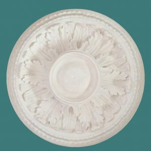 ACANTHUS LEAF WITH WATER LEAF EDGING CEILING ROSE CC83 470mm