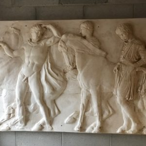 PARTHENON MARBLES | REPLICA PLASTER PLAQUE - Made to order item