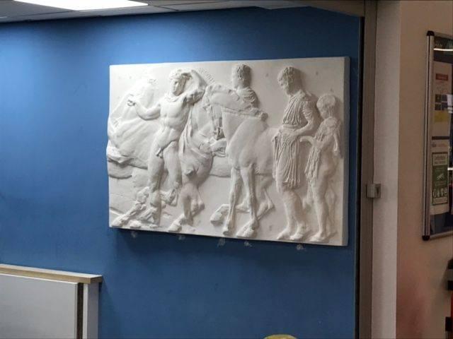 Parthenon marble plaque